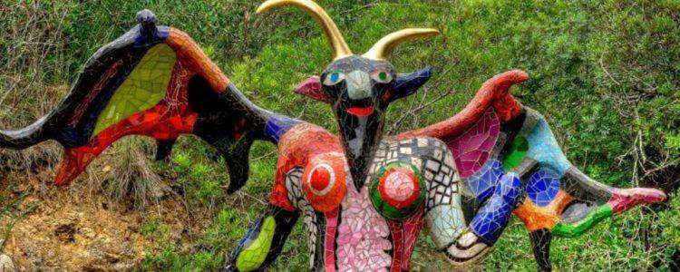 Il Giardino dei Tarocchi di Capalbio