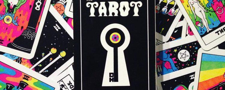 Tarot Age: i Tarocchi psichedelici di Oliver Hibert